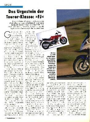 Das Urgestein Yamaha FJ