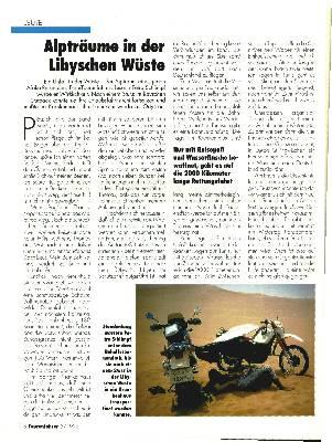Alpträume in der Libyschen Wüste