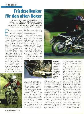 BMW R 100 GS Q-Tech/R 100 GS Bj. '95/R 1100 GS/Cagiva 900 i.e. Elefant