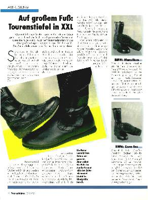 Tourenstiefel in XXL