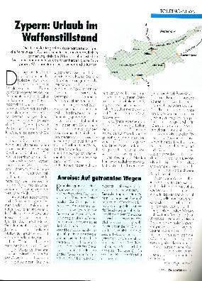 Zypern - Urlaub im Waffenstillstand