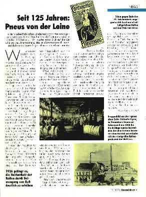 Seit 125 Jahren - Pneus von der Leine- Continent