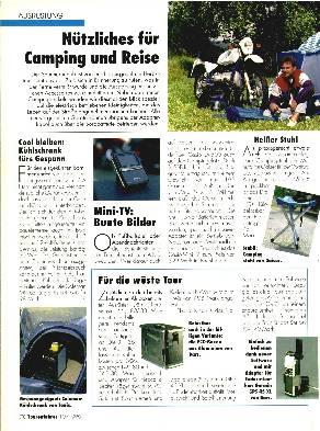 Nützliches für Camping und Reise
