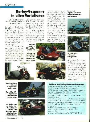 Harley-Davidson-Gespanne