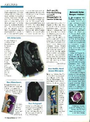 Ausrüstung: Sommerbekleidung/Handprotektoren