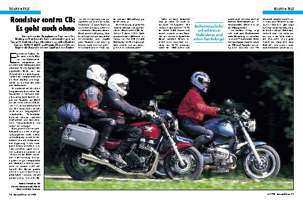 BMW R 850 R/Honda CB Seven-Fifty