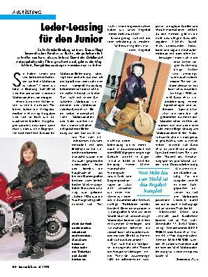 Leder-Leasing für den Junior