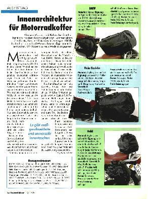 Innentaschen für Motorradkoffer