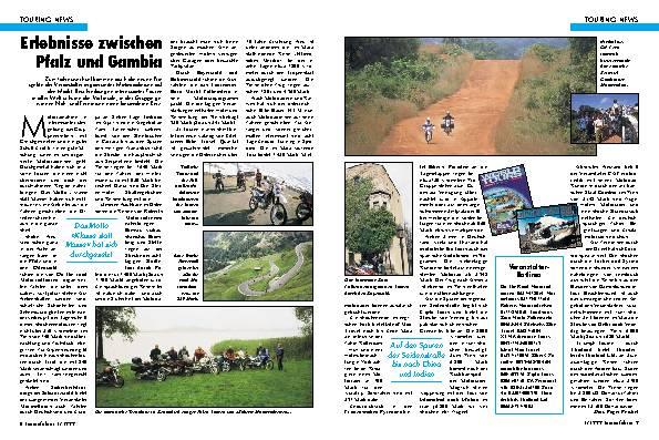 Erlebnisse zwischen Pfalz und Gambia