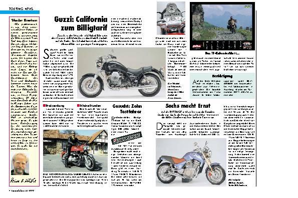 Touring-News California um Billigtarif