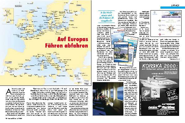 Europas Fähren