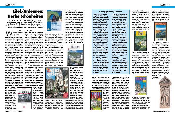 Eifel/Ardennen-Bücher