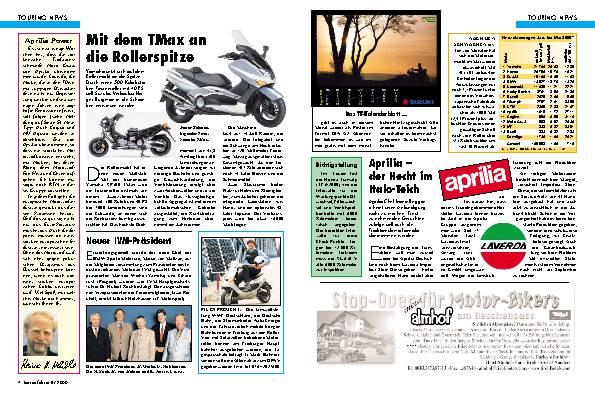 Touring-News Aprilia-Power