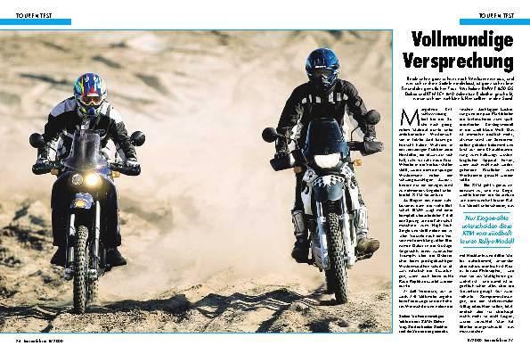 BMW F 650 GS Dakar gegen KTM LC4 Adventure-R