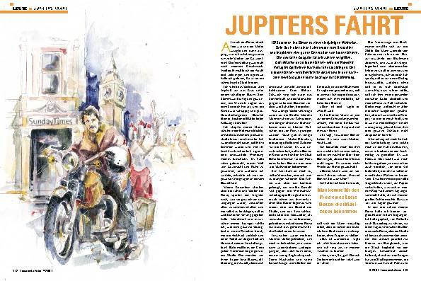 Jupiters Fahrt