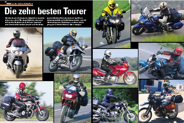 Die zehn besten Tourer
