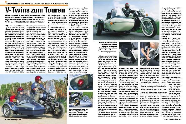 OTT- Moto Guzzi California/Sauer- Honda VT 1100