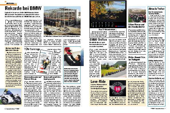 Aktuell Rekorde bei BMW