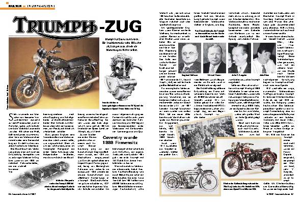 Triumph-Historie
