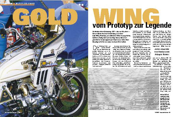 30 Jahre Gold Wing