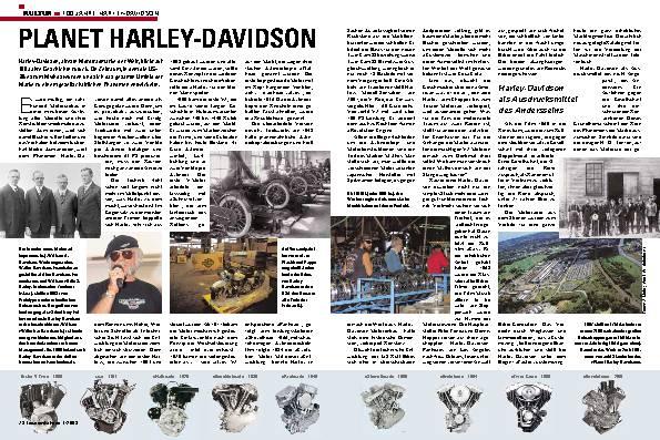 100 Jahre Harley-Davidson