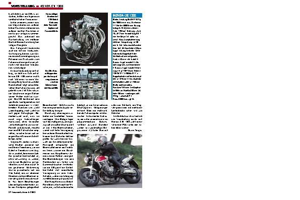 Hondas CB 1300
