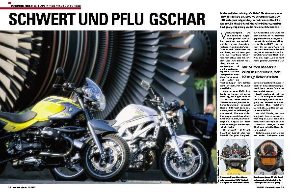 BMW R 1150R/Suzuki SV 1000