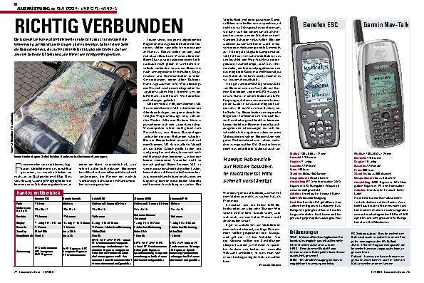 Outdoor und GPS Handys