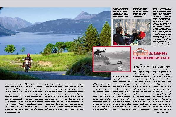 Auf den Spuren der Rallye Monte Carlo