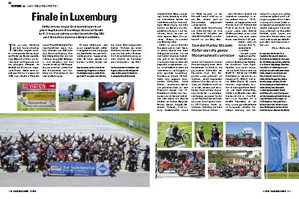 Finale in Luxemburg
