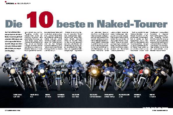 Die 10 besten Naked-Tourer