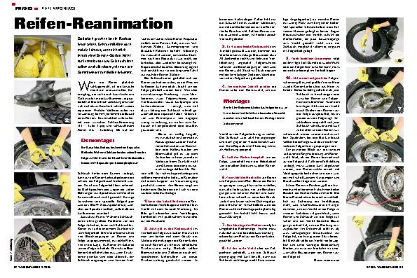 Reifen-Reanimation