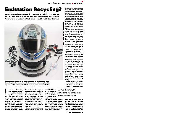 Endstation Recycling?