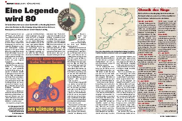 80 Jahre Nürburgring