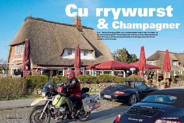 Currywurst & Champagner