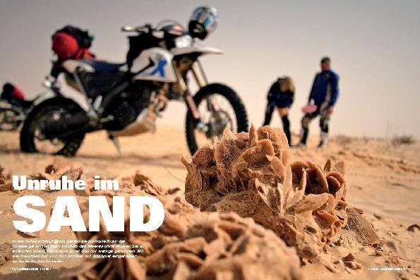 Unruhe im Sand