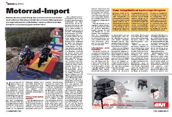 Motorrad-Import