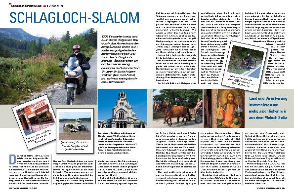 Leser-Reportage Bulgarien