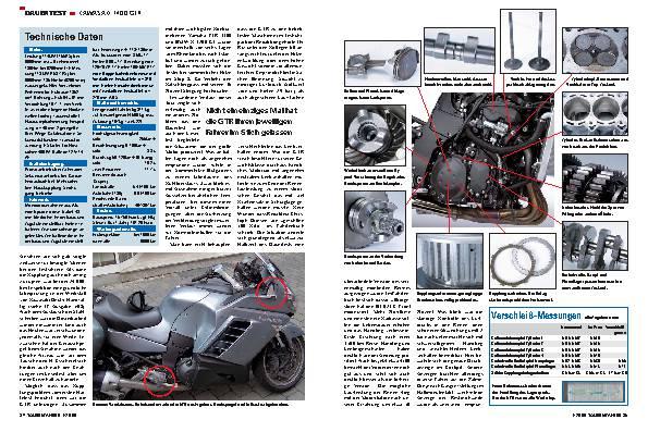 Dauertest - Kawasaki 1400 GTR