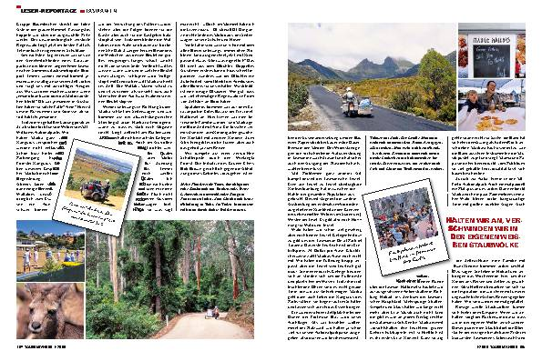 Leser-Reportage - Des Teufels Wilde Insel