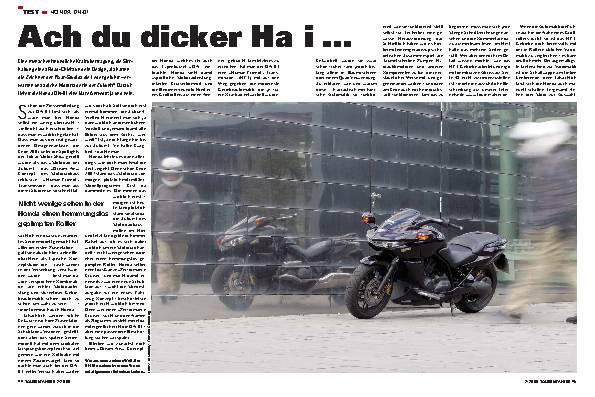 Test - Honda DN-01