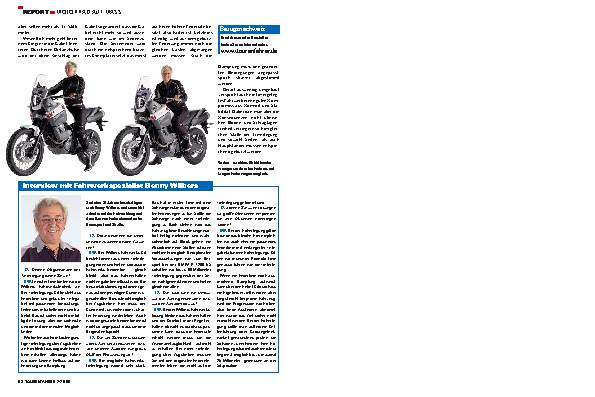 Report -  Motorrad auf Mass