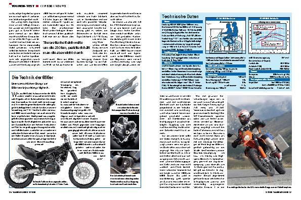 KTM 690 Enduro - Hart & Herzlich
