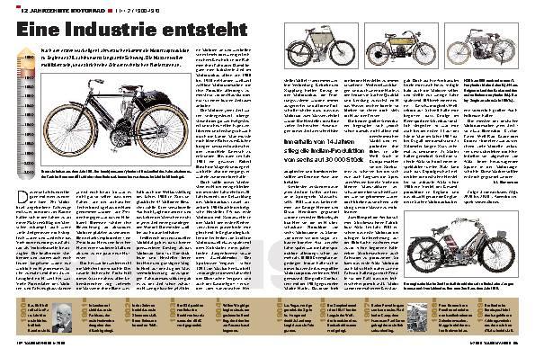12 Jahrzehnte Motorrad Teil 2 / 1900-1910
