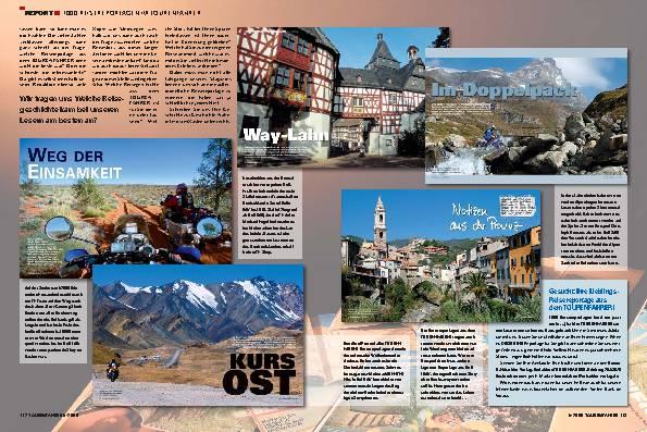 Report - 1000 Reisereportagen im TOURENFAHRER