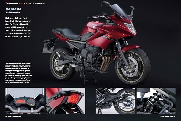 Tourentest - Yamaha XJ6 Diversion