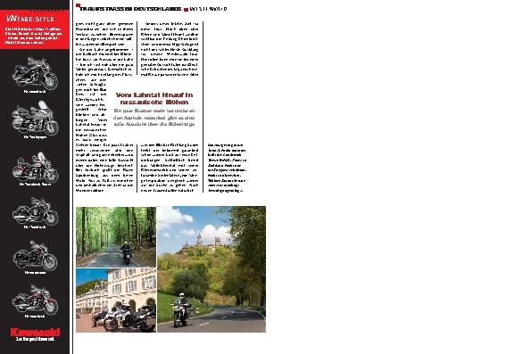 Traumstraßen Deutschland - Westerwald