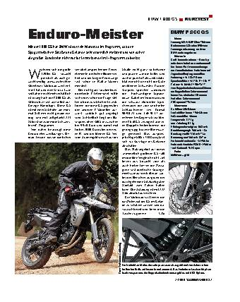 Kurztest - BMW F 800 GS