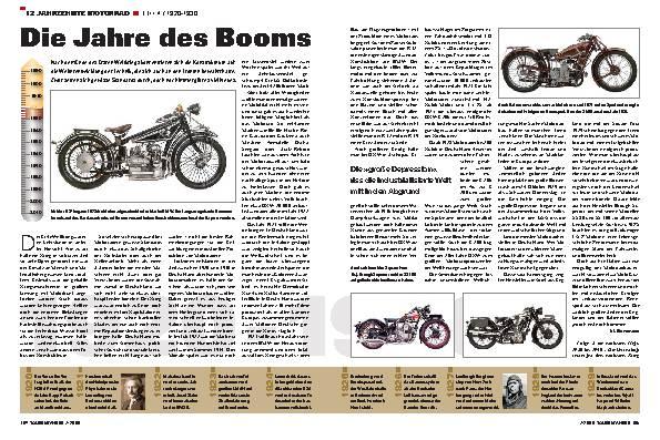 12 Jahrzehnte Motorrad - Teil 4 /1920-1930
