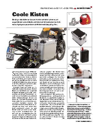Ausrüstung - Touratech-Alu-Koffer Zega Pro